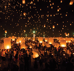 Loy Krathong Festival Diversity Calendar