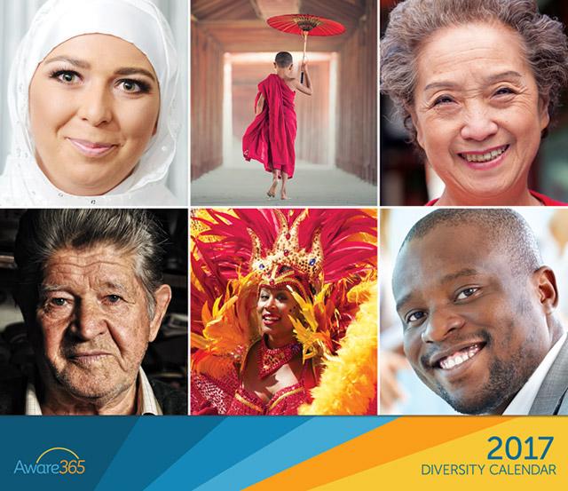 2017 Diversity Calendar Cover