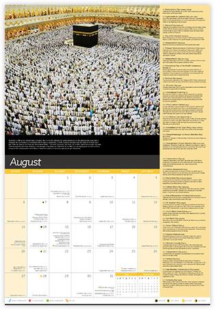 Diversity Calendar - August