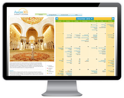 Online Diversity Calendar