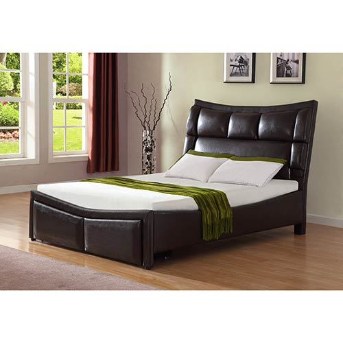 Tpi Sleep Sound Queen Platform Bed With Storage