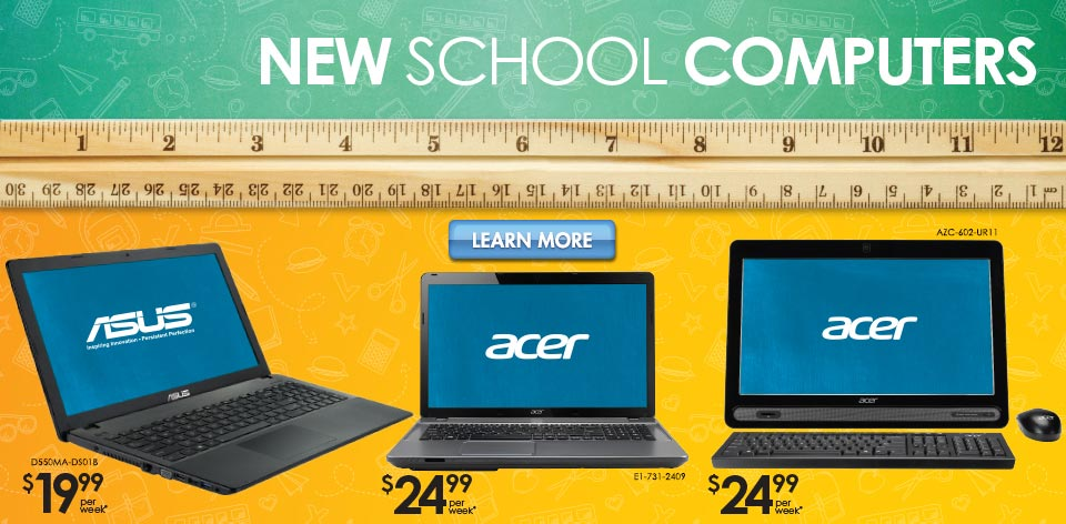 New School Computers - Learn More