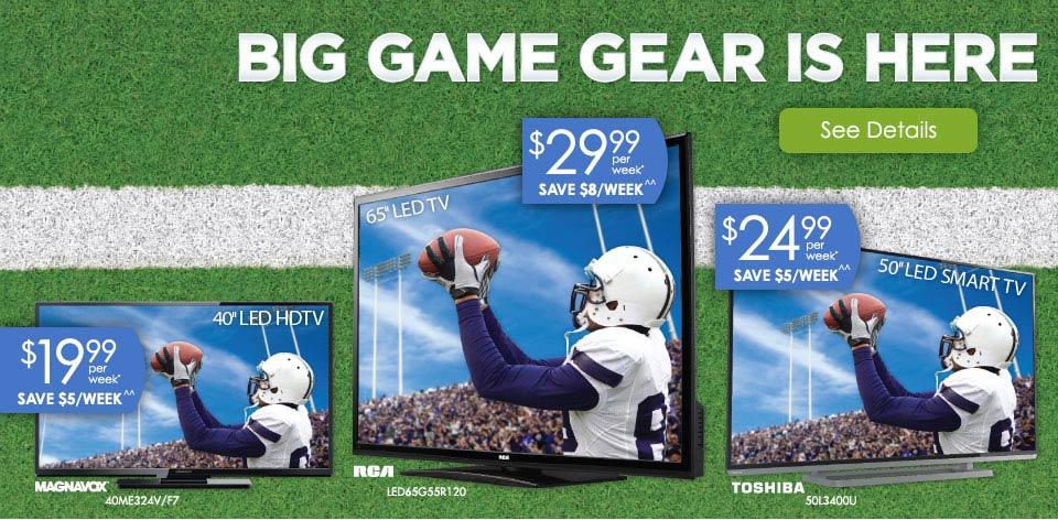 Big Game Gear is Here! Learn More