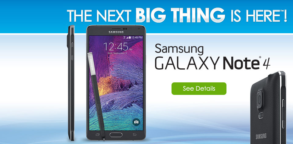 The Next Big Thing is Here! The Samsung Galaxy Note 4 - Learn More