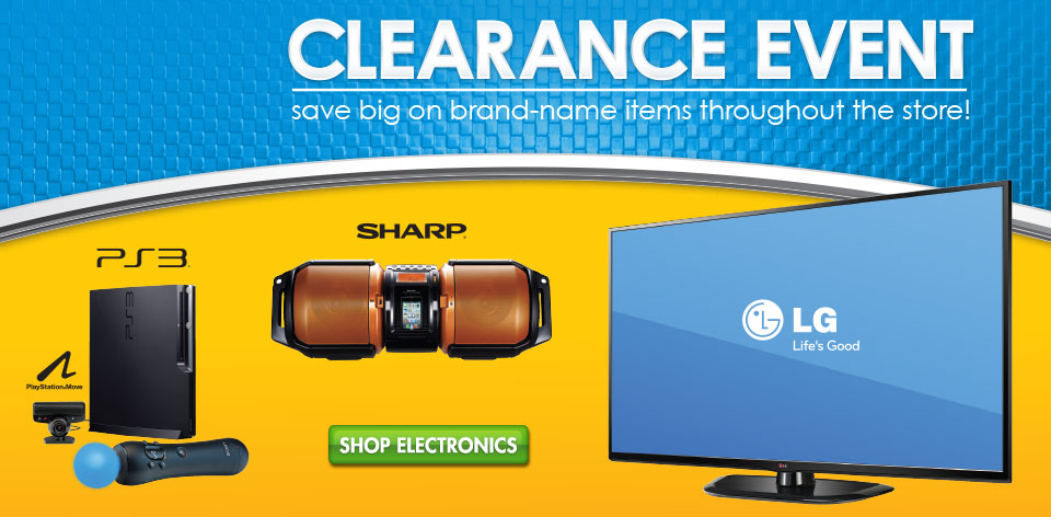 Shop Electronics - save big on your favorite brands!