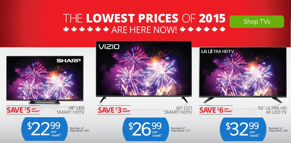 The Lowest Prices of 2015 Are Here Now! Shop TVs >